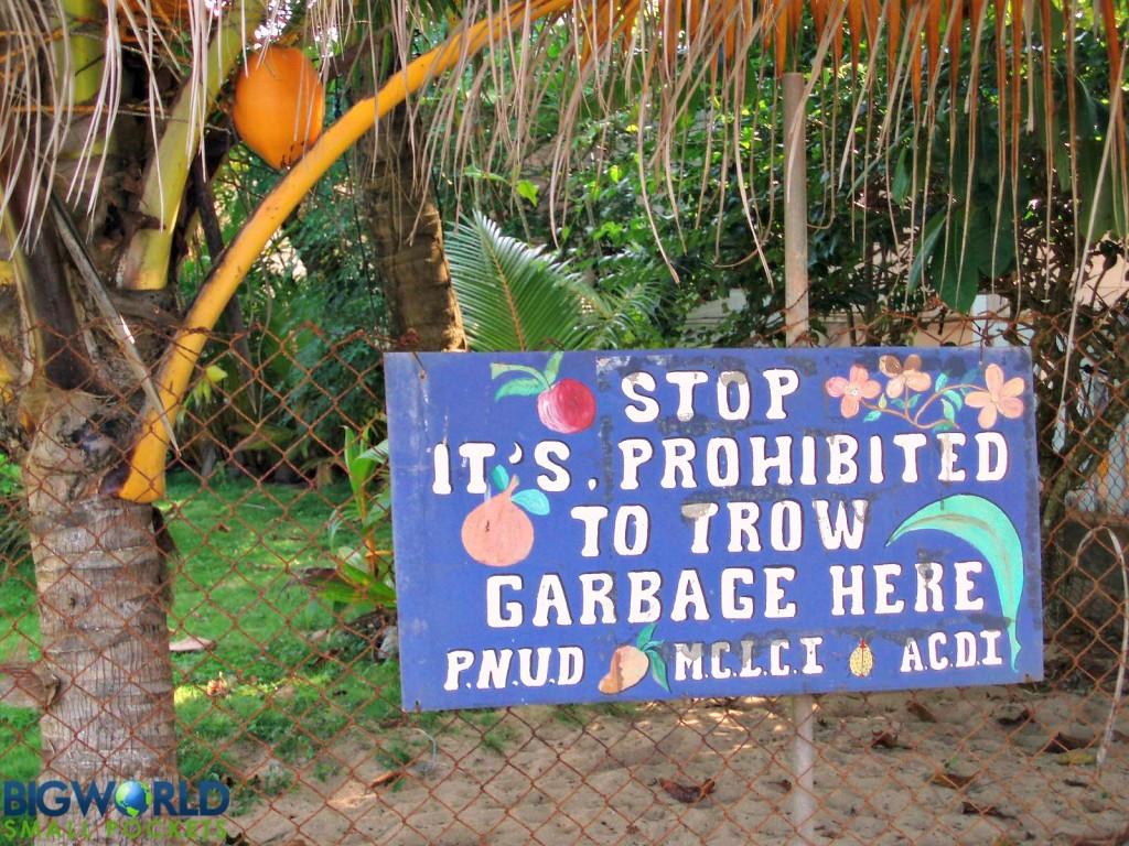 Don't Trow Garbage