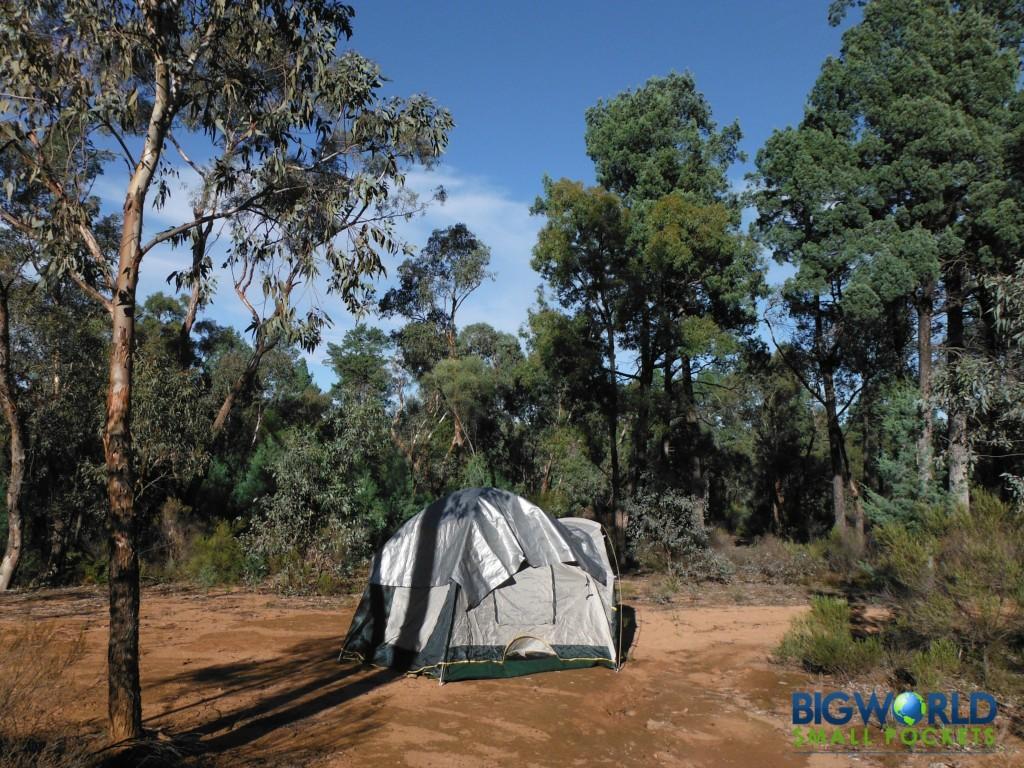 Tent in Gilgandra