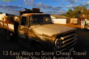 13 Easy Ways to Score Cheap Travel When You Visit Australia
