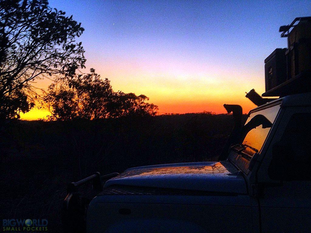 Free Camp Sunset