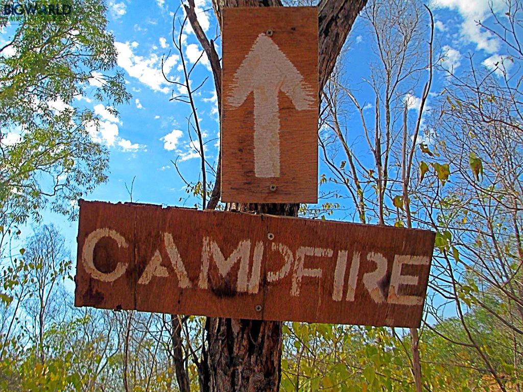 Australia, Broome, Campfire Arrow