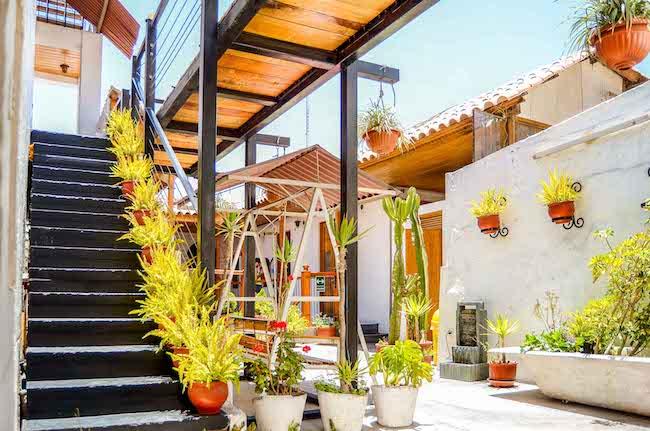 Peru, Arequipa, Le Foyer Hostel