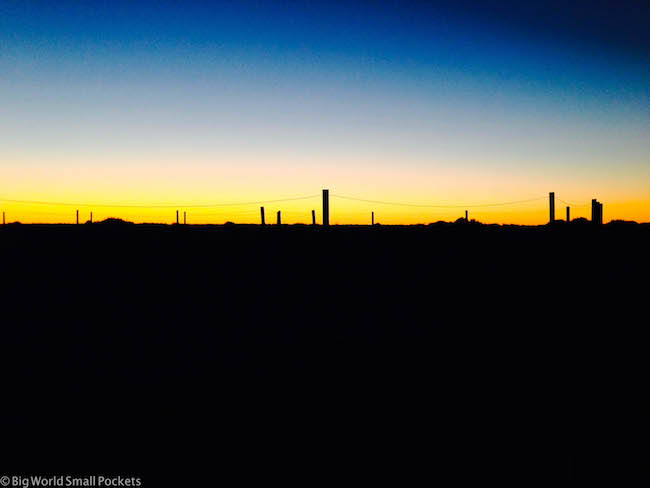 Australia, Lake Eyre, Sunset