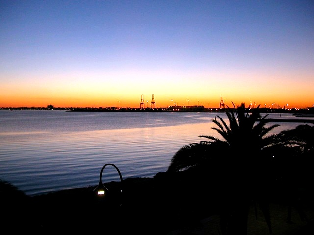 Australia, Melbourne, Sunset