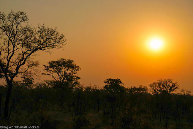 Botswana, Chobe National Park, Sunset