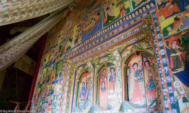Ethiopia, Bahar Dar, Monastery Art