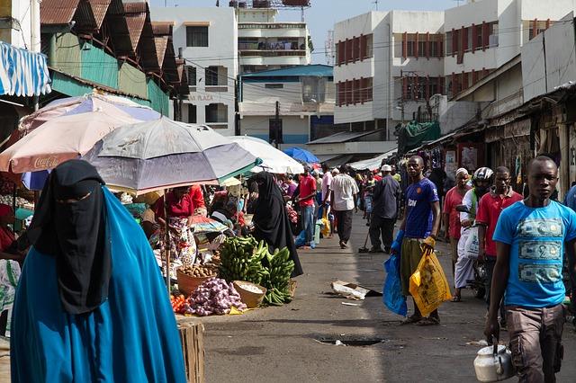 Kenya, Mombasa, Market