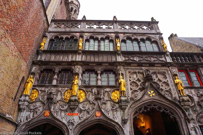 Belgium, Bruges, Heilig-Bloedbasiliek
