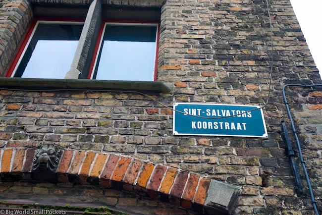 Belgium, Bruges, Streets