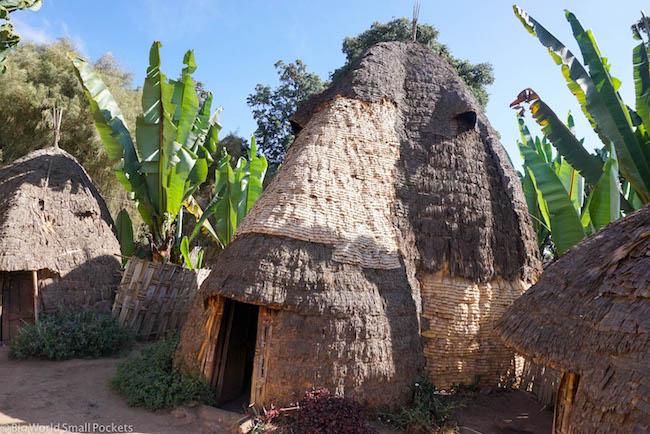 Ethiopia, Dorze Village, House