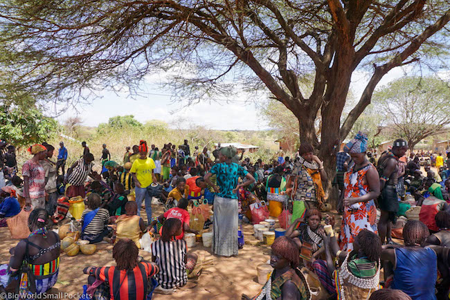 Ethiopia, Omo Valley, Banna & Hamer Market