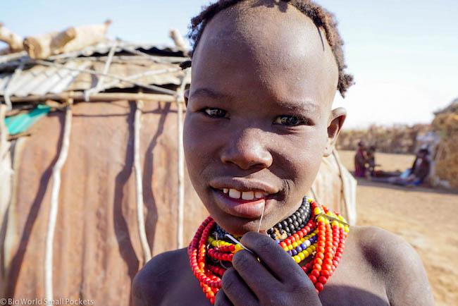 Ethiopia, Omo Valley, Daasanach Girl