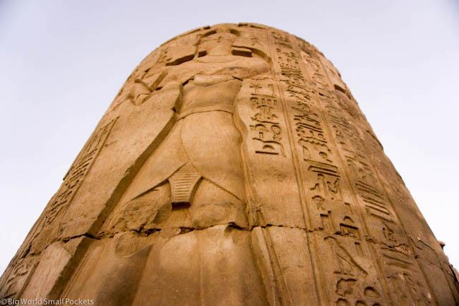 Egypt, Aswan, Kom Ombo Pillar
