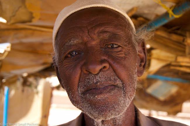 Sudan, Karima, Old Man