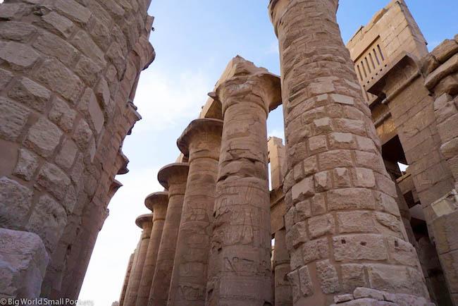 Egypt, Luxor, Ramses III Temple