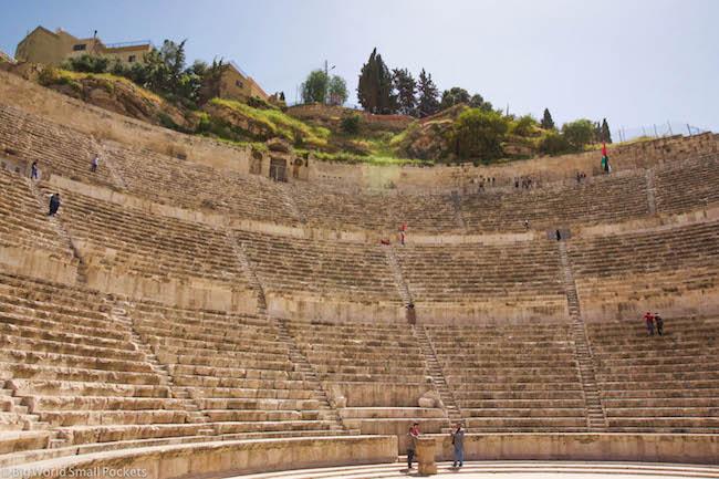 Jordan, Amman, Roman Theatre