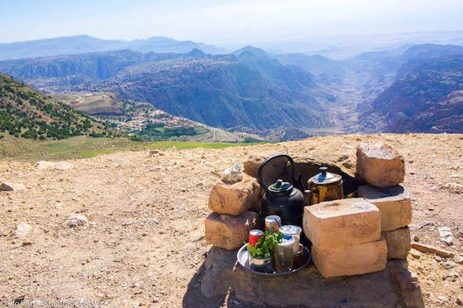 Jordan, Dana Reserve, Lookout
