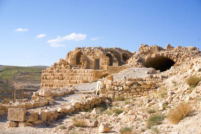 Jordan, Shobak Castle, Ruins