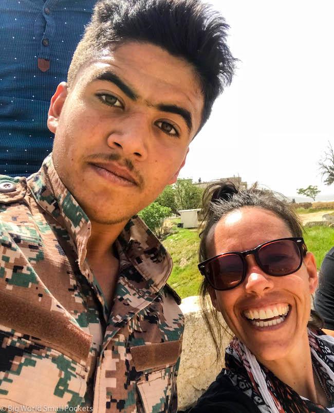 Jordan, Army, Selfies