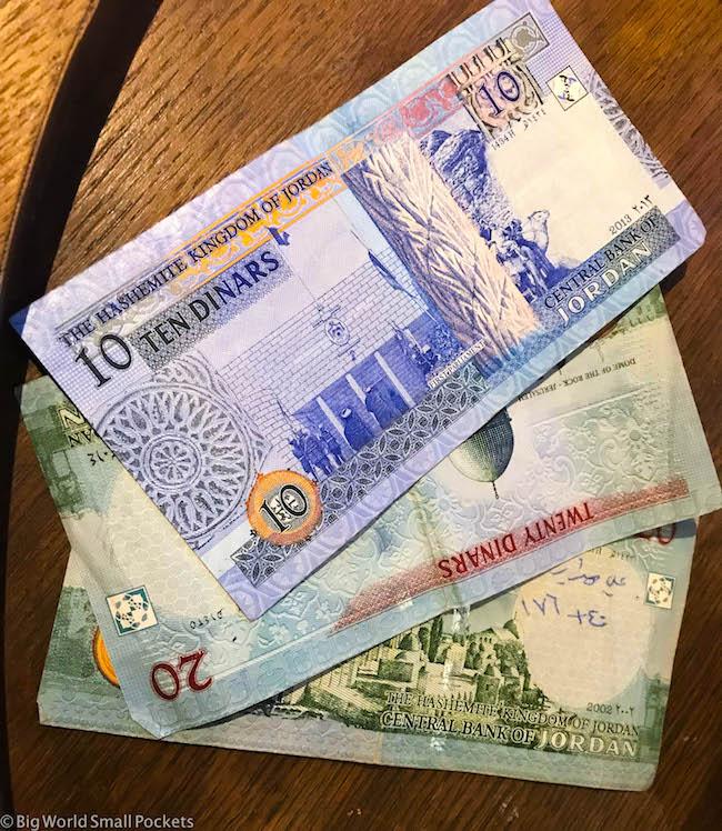 Jordan, Money, Dinar
