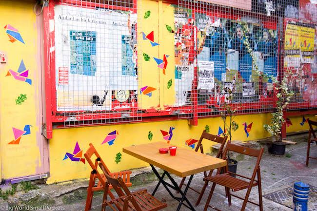 Turkey, Istanbul, Cafe