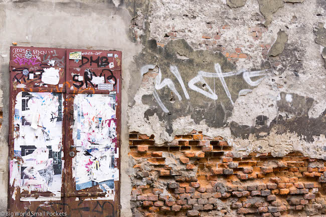 Poland, Krakow, Crumbling