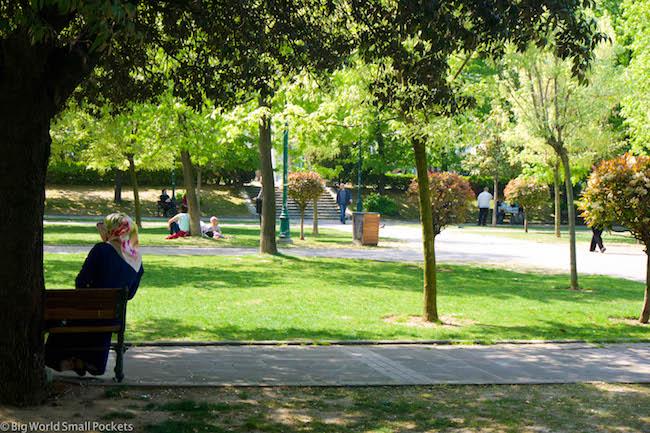 Turkey, Istanbul, Park