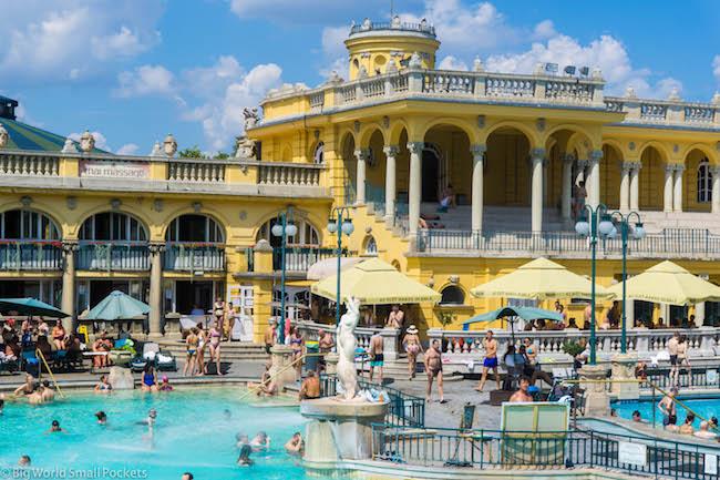 Hungary, Budapest, Baths