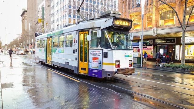 Melbourne, CBD, Tram