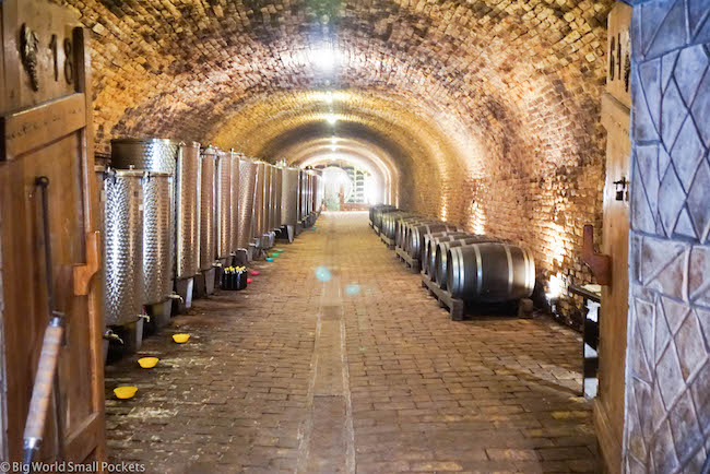 Serbia, Sremski Karlovci, Wine Cellar