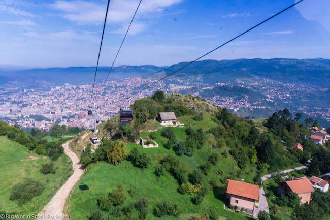 Bosnia, Sarajevo, Cable Car