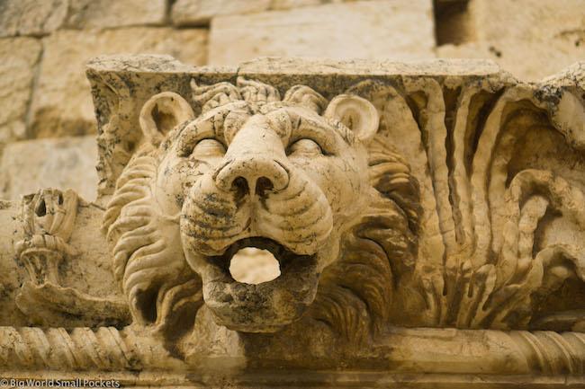 Lebanon, Baalbeck, Lion