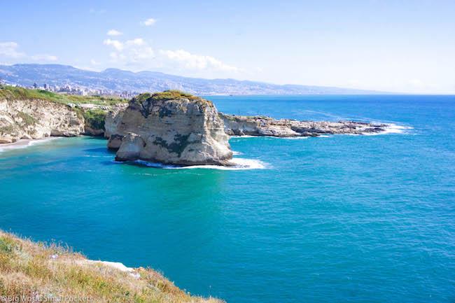 Lebanon, Beirut, Coastline