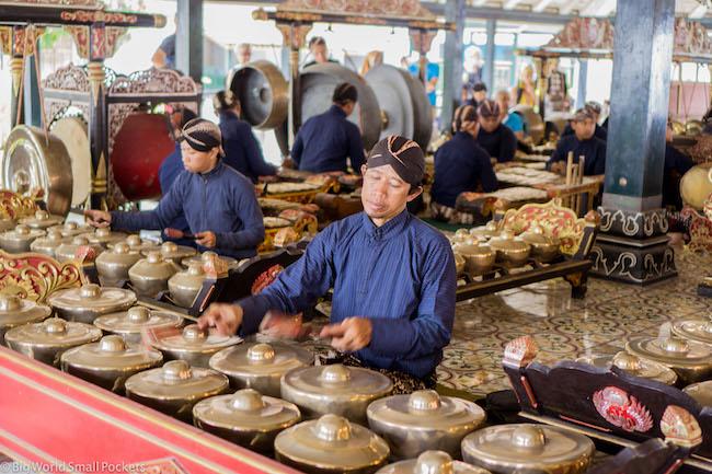 Indonesia, Yogyakarta, Traditional Musicians