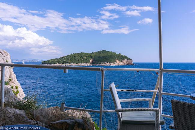 Croatia, Dubrovnik, Buza Bar