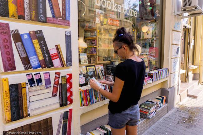 Bulgaria, Sofia, Me & Elephant Bookstore