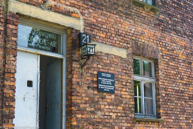 Poland, Auschwitz, Quarters