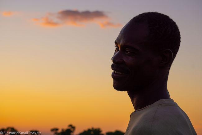 Botswana, Okavango Delta, Sunset Portrait