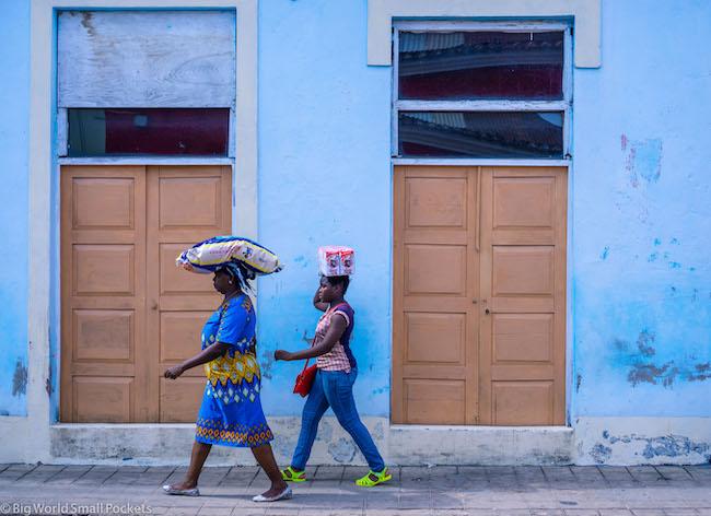 Mozambique, Inhambane, Women on Street