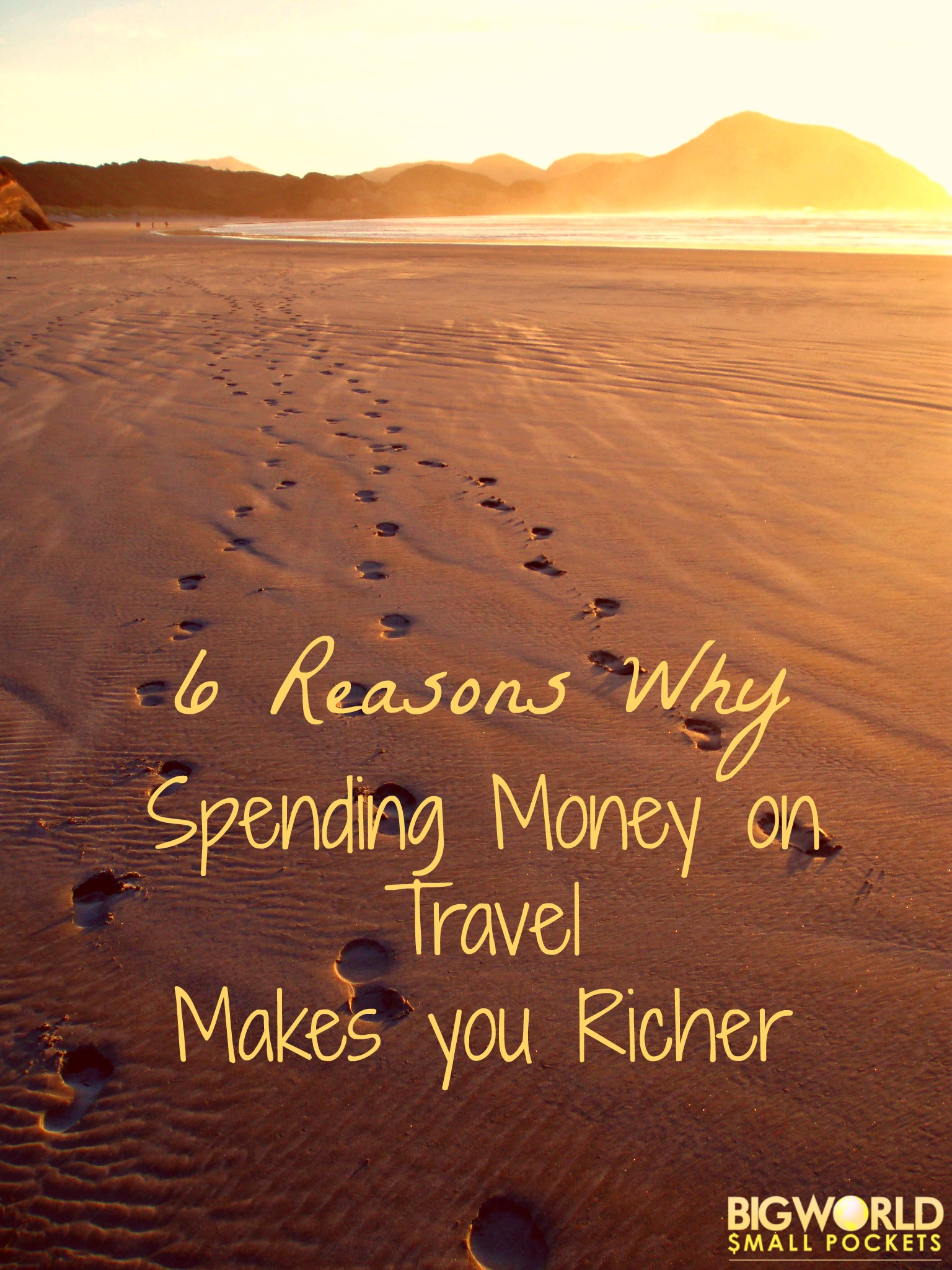 spending money on travel