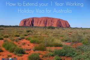 How to Extend your 1 Year Australian Working Holiday Visa