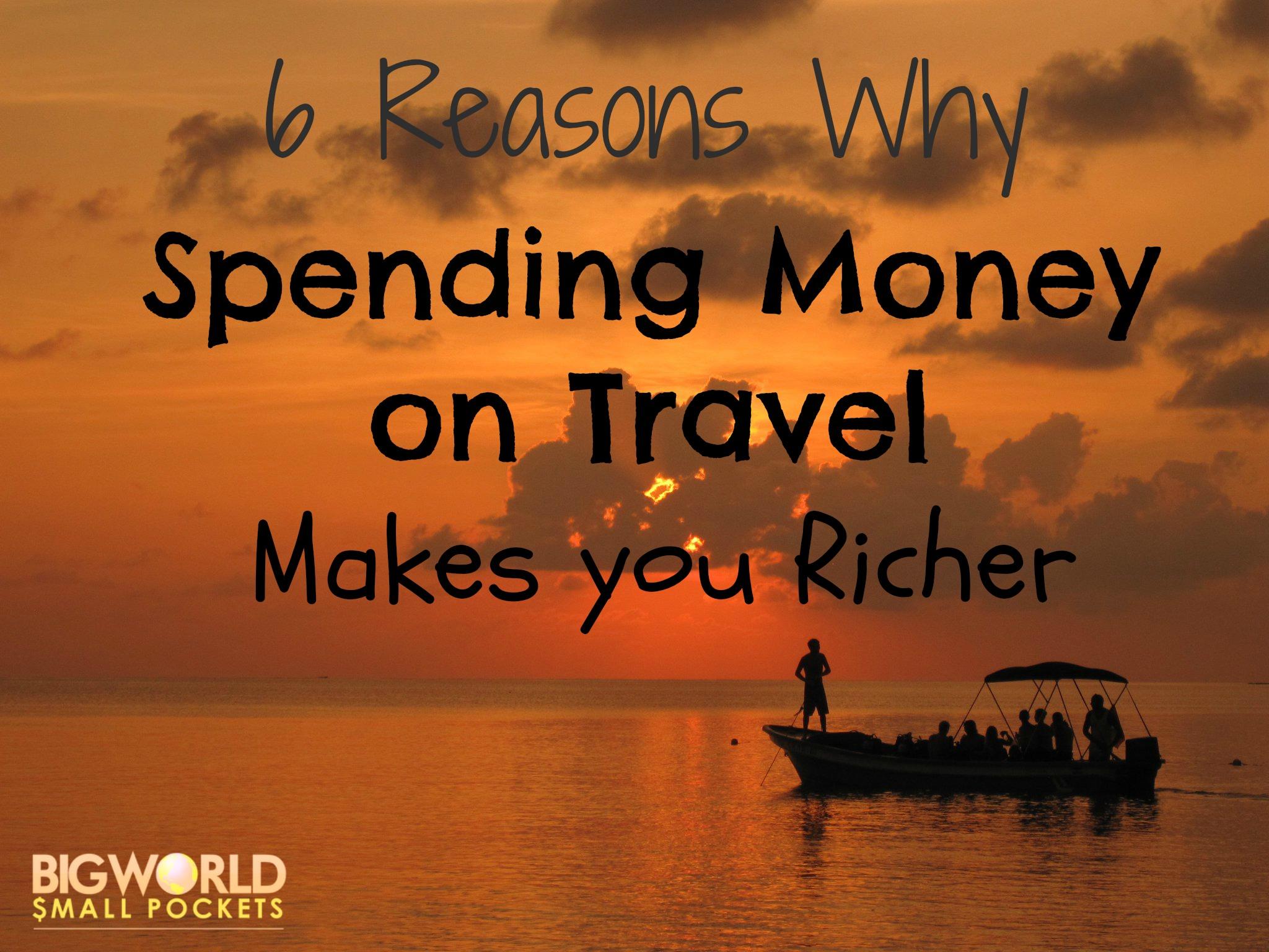 Spending Money on Travel