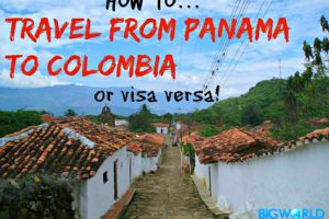 How to Cheaply Travel From Panama to Colombia (or visa versa!)
