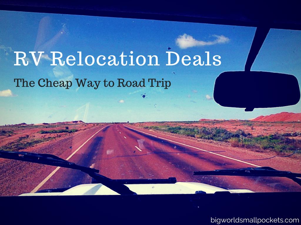 RV Relocation Deals