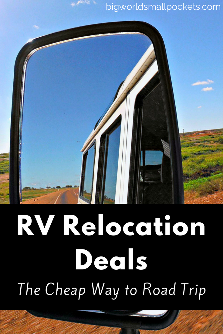 Relocation Deals - The Cheap Way to Road Trip {Big World Small Pockets}
