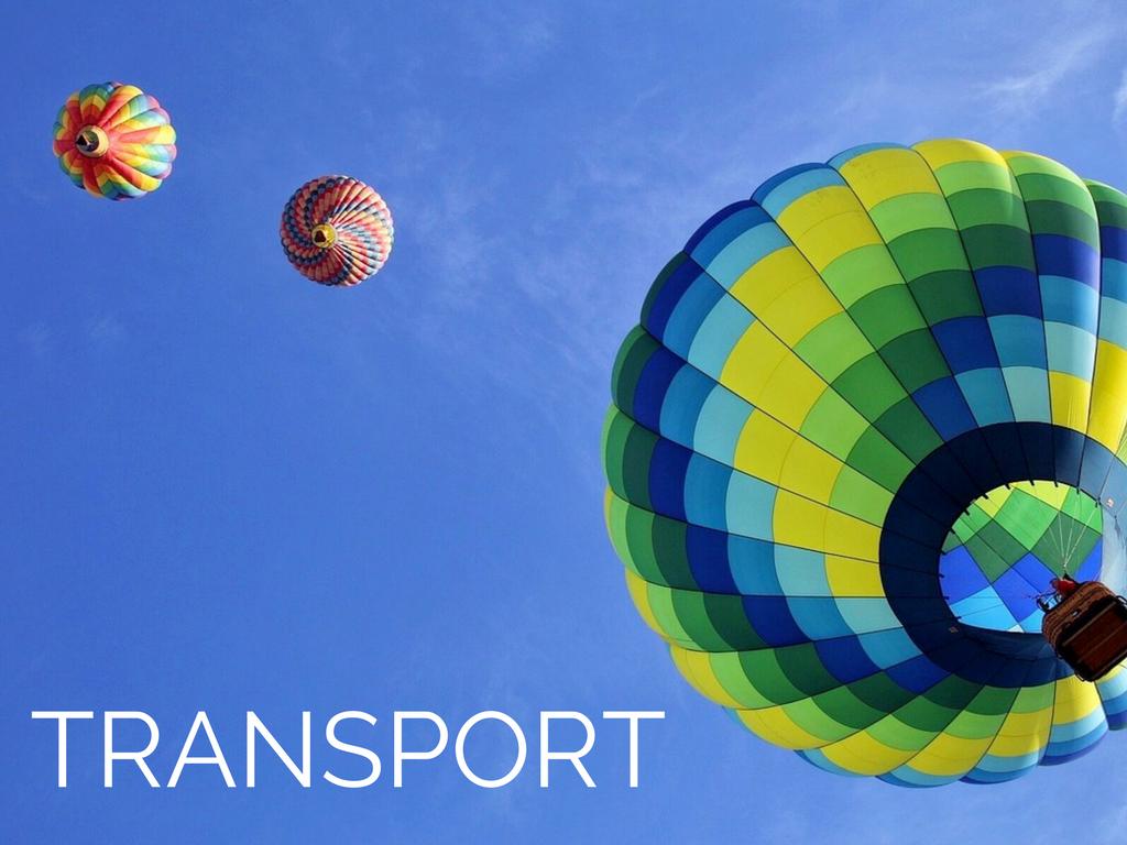 Resources, Transport