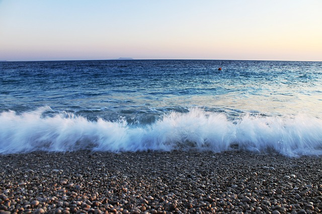 Albania, Beach, Wave