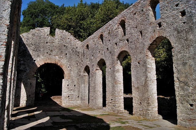 Albania, Butrint, Ruins