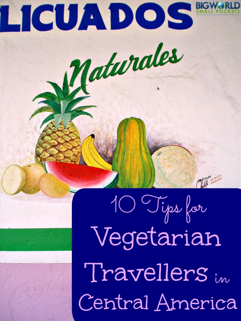 10 Tips for Vegetarian Travellers in Central America