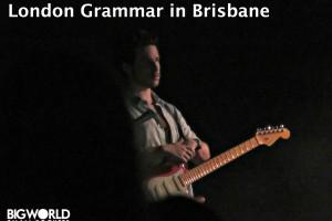 London Grammar in Brisbane